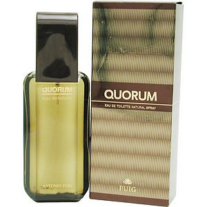 Antonio Puig Quorum Men's Eau De Toilette Spray