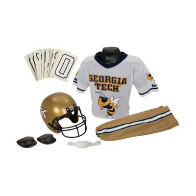 Franklin Sports Georgia Tech Deluxe Uniform Set - Medium