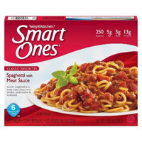 Weight Watchers Smart Ones Spaghetti with Meat Sauce 11.5-oz.