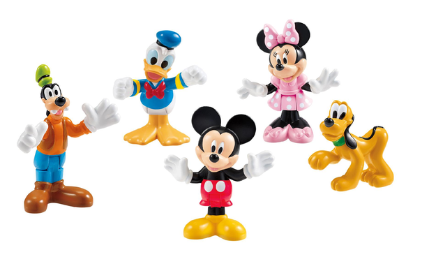 Fisher Price Mickey Mouse Clubhouse - Clubhouse Pals - Fisher-Price - Mattel