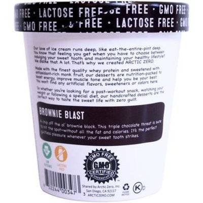 Generic Arctic Zero Brownie Blast Ice Cream, 16 fl oz