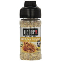 Weber Grill Beer Can Chicken Seasoning, 2.85-Ounce (Pack of 6)