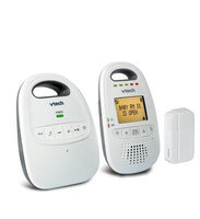 VTech Safe and Sound® DECT 6.0 Digital Audio Baby Monitor with Open/Closed Sensor - DM251-102
