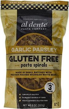 Al Dente PASTA SPIRALS, GAR PARS, GF, (Pack of 6)