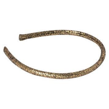 Remington Gold Metallic Headband