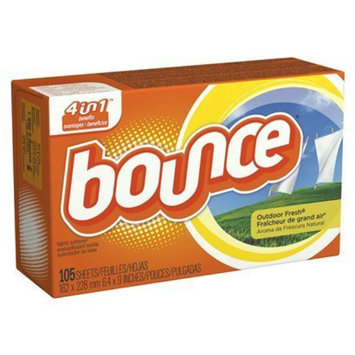 Bounce Outdoor Fresh Dryer Sheets - 105 Count