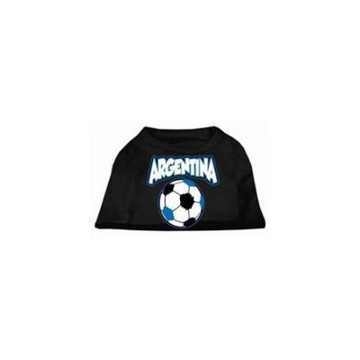 Ahi Argentina Soccer Screen Print Shirt Black Med (12)