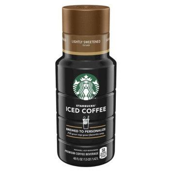 Quaker Starbucks Iced Coffee Lightly Sweet 48oz