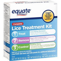 Equate Lice Treatment Kit Compare to RID Lice Killing Shampoo