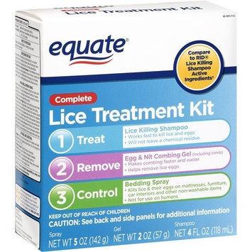 Equate Lice Treatment Kit Compare to RID Lice Killing Shampoo