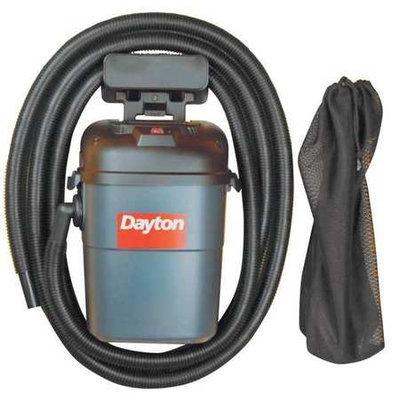 DAYTON 13J020 HangUp Wet/Dry Vacuum, 3.5 HP, 3.5 gal.