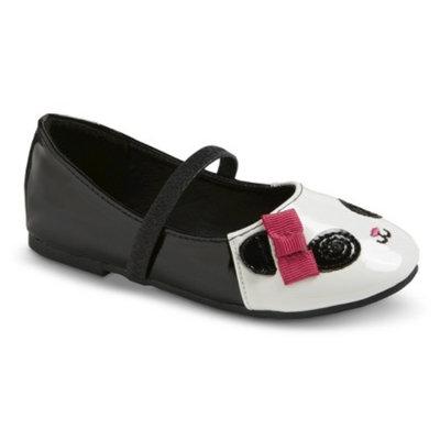 Toddler Girl's Kerstin Panda Ballet Shoes - Black 5