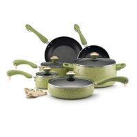 Paula Deen 15-pc. Nonstick Signature Porcelain Cookware Set, Pear