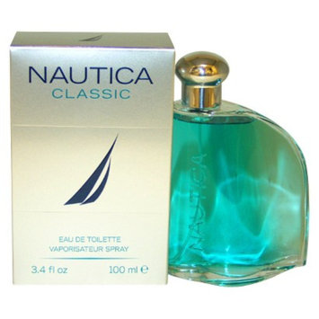 Men's Nautica Classic by Nautica Eau de Toilette Spray - 3.4 oz