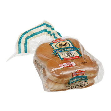 Stroehmann Dutch Country Hamburger Potato Buns - 8 CT