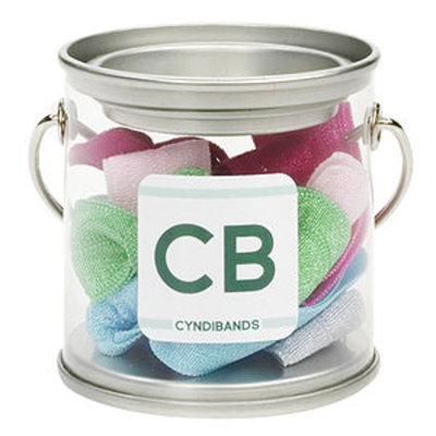 Cyndibands CyndiBands Mini Paint Tin with 6 Hair Ties, Spring, 1 ea