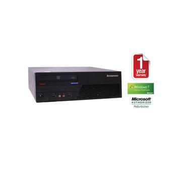 Joy Systems, Inc IBM M58 Refurbished Small Desktop PC C2D-2.33/2GB/80GB/DVD/W7HP