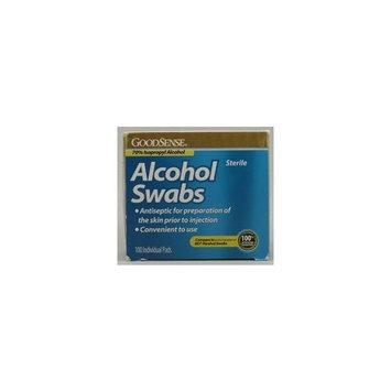 Good Sense Alcohol Swabs 100 Pads