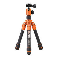 MeFOTO DayTrip Tripod Kit, Orange