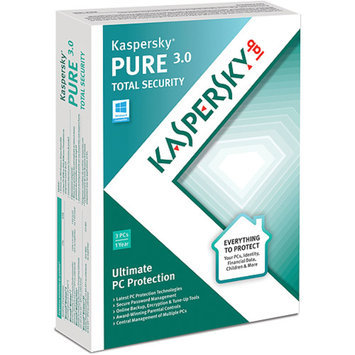 KASPERSKY Kaspersky PURE 3.0 Total Security, 3 Users