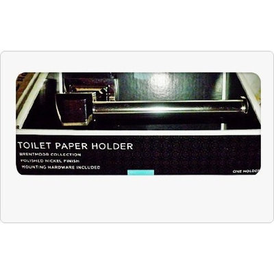 Brentmoor Bath Collection Polished Nickel Toilet Paper Holder