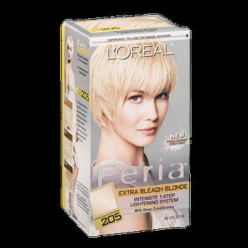 L'Oréal Paris Feria Intensite 1-Step Lightening System Extra Bleach Blonde 205