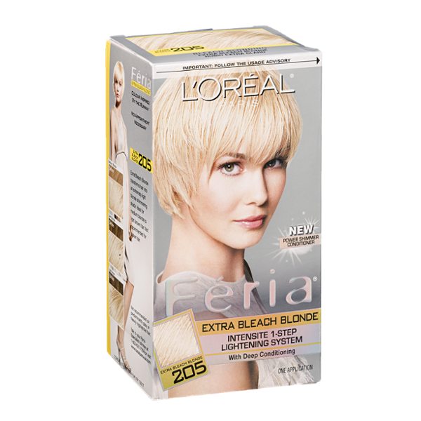 L39Oral Paris Feria Intensite 1Step Lightening System Extra Bleach Blond