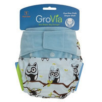 GroVia Cloth Diaper Shell - Hook & Loop - Adventure