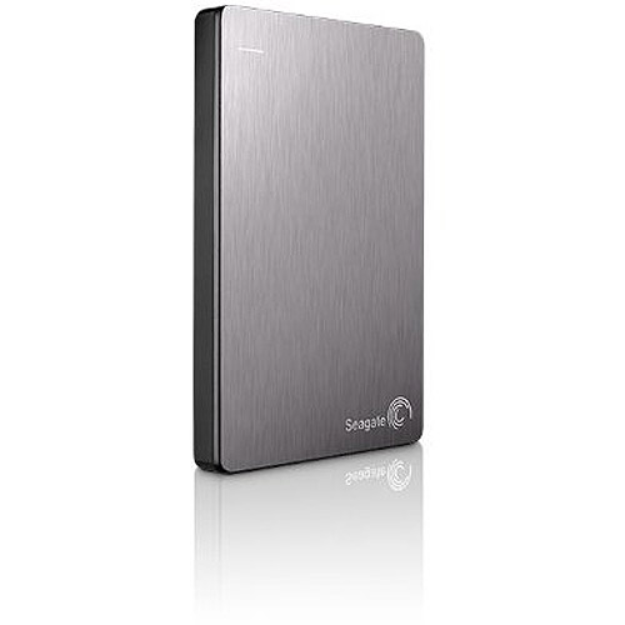 Seagate Backup Plus 1TB Slim Portable External Hard Drive, Silver