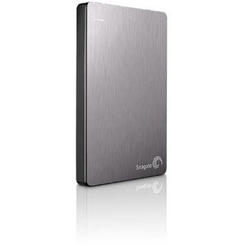 Seagate Backup Plus 1TB Slim Portable External Hard Drive, Silver