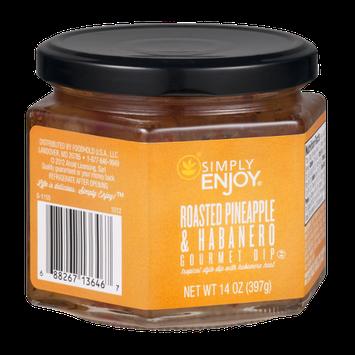 Ahold Simply Enjoy Gourmet Dip Roasted Pineapple & Habanero