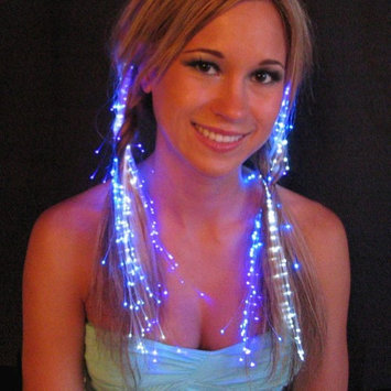 Luminence Llc Get The Party Started With A Set Of 10 Multi-Color Fiber Optic Light Strands