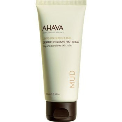 AHAVA Dermud Enriched Intensive Foot Cream, 4.2 fl. oz.