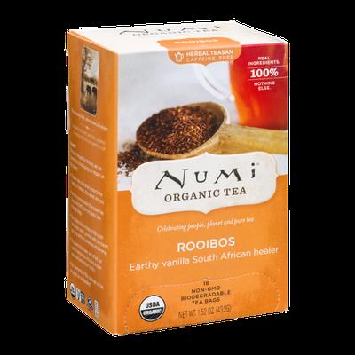 Numi Organic Caffeine Free Tea Bags Rooibos - 18 CT