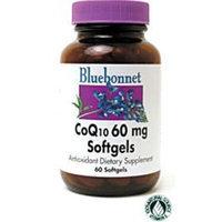 BlueBonnet CoQ-10 Vegetarian Softgels, 60 mg, 60 Count