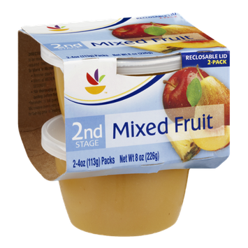 Ahold 2nd Stage Baby Food Mixed Fruit - 2 CT
