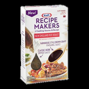 Kraft Recipe Makers Cooking Sauces Slow Cooker Recipe New England Pot Roast