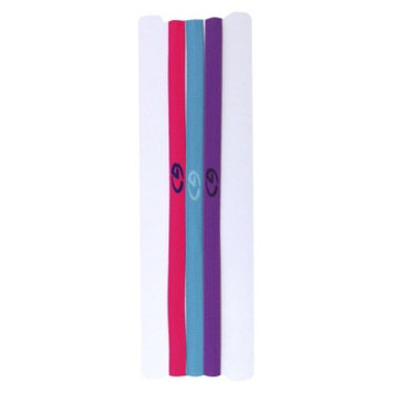 Fantasia Accessories C9 BY CHAMPION 3-Pack Elastic Headwraps - Purple Combo