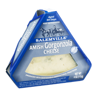 Salemville Gorgonzola Cheese Amish Wedge