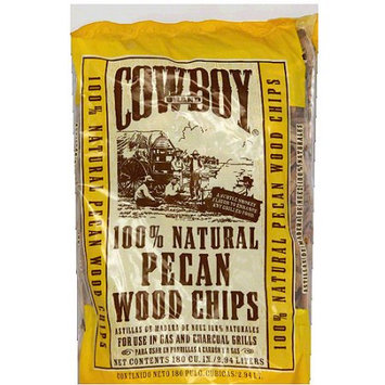 Cowboy Charcoal Cowboy 100% Natural Pecan Wood Chips, 2.94 liters, (Pack of 6)