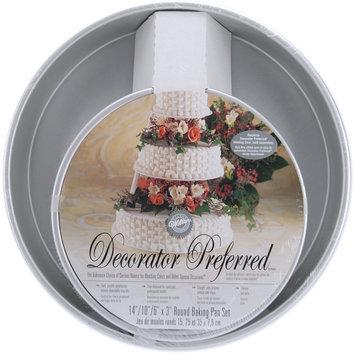 Wilton Decorator Preferred Round Cake Pan 3-Piece Set