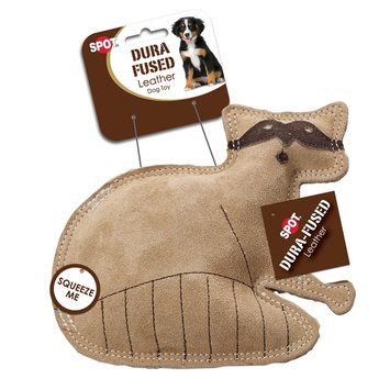 Ethical Products Inc SPOT Dura-Fused Leather Raccoon Dog Toy