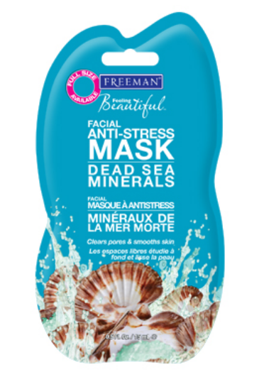 Freeman Beauty Feeling Beautiful  Facial Anti-Stress Mask Dead Sea Minerals