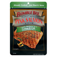 Bumble Bee Prime Fillet Lemon and Dill-Flavored Pink Salmon Steak 4-