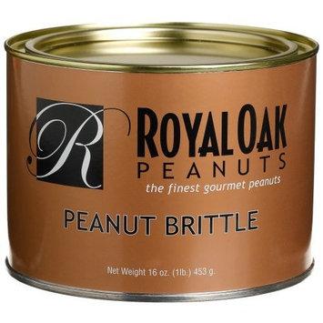 Royal Oak Gourmet Peanut Brittle, 16-Ounces Tin (Pack of 2)