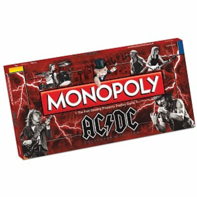 USAopoly Monopoly AC/DC Edition Ages 8+, 1 ea