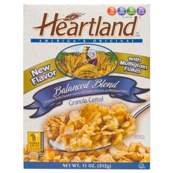 Heartland Granola Cereal, Balanced Blend, 11-Ounce Boxes (Pack of 6)