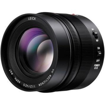 Panasonic Lumix G Leica 42.5mm f/1.2 DG Nocticron ASPH. Lens for G Series Cameras (Black)