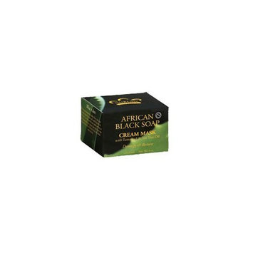 Nubian Heritage African Black Soap Cream Mask 4 Ounces
