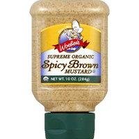 Woeber's Supreme Organic Spicy Brown Mustard 10oz (Pack of 12)